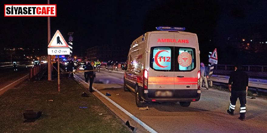 Düzce'de motosiklet kazası: 2 ölü