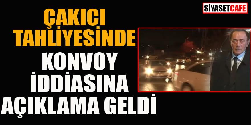 Çakıcı tahliyesinde konvoy iddiasına Jandarma'dan açıklama geldi