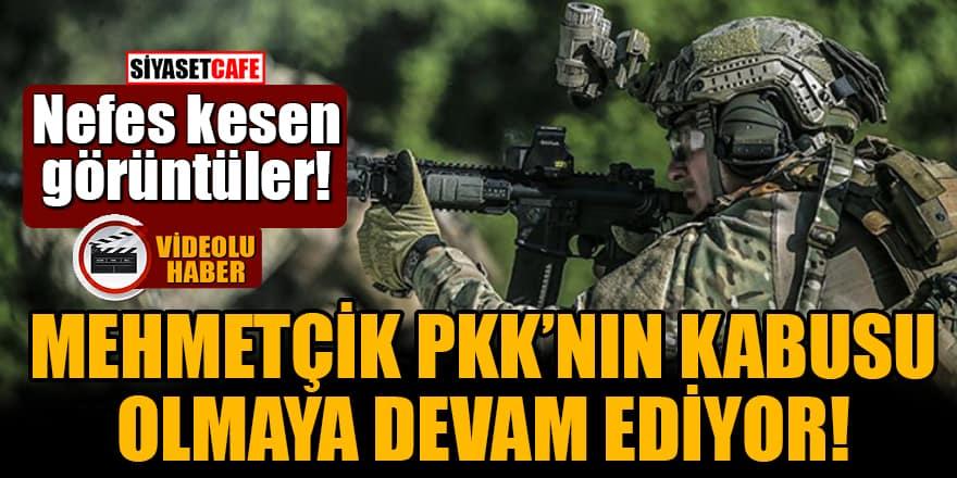 Nefes kesen görüntüler! Mehmetçik PKK'nın kabusu olmaya devam ediyor