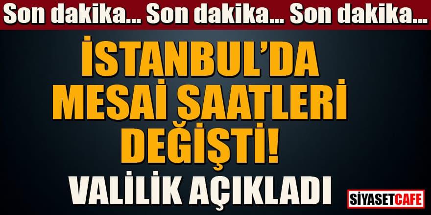 İstanbul'da mesai saatlerine Ramazan düzenlemesi