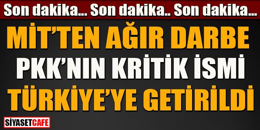 Son dakika! PKK'nın kritik ismi İsveç'ten Türkiye'ye getirildi