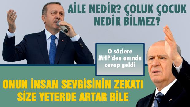 MHP'den Başbakan'a sert cevap