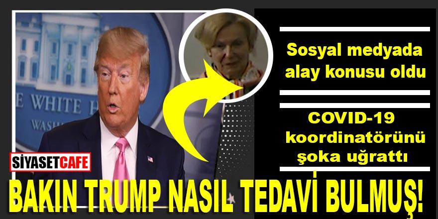 Donald Trump'tan yeni Covid-19 tedavi yöntemi: Alay konusu oldu