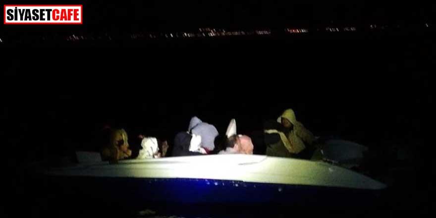 Muğla'da 13 sığınmacı kurtarıldı