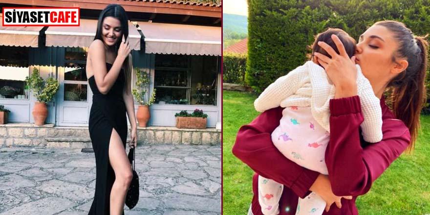 Hande Erçel, yeğeni Aylin Mavi ile pozlarını paylaştı! Beğeni yağdı