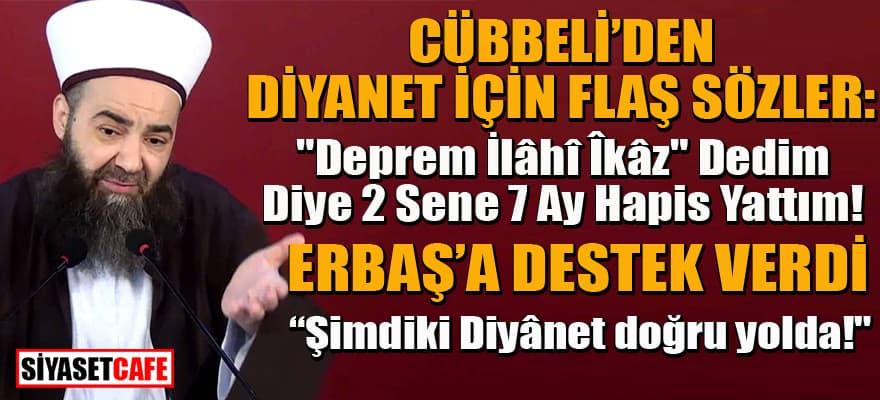 Cübbeli eski 2 Diyanet Başkanı'nı hedef aldı! Ali Erbaşı övdü