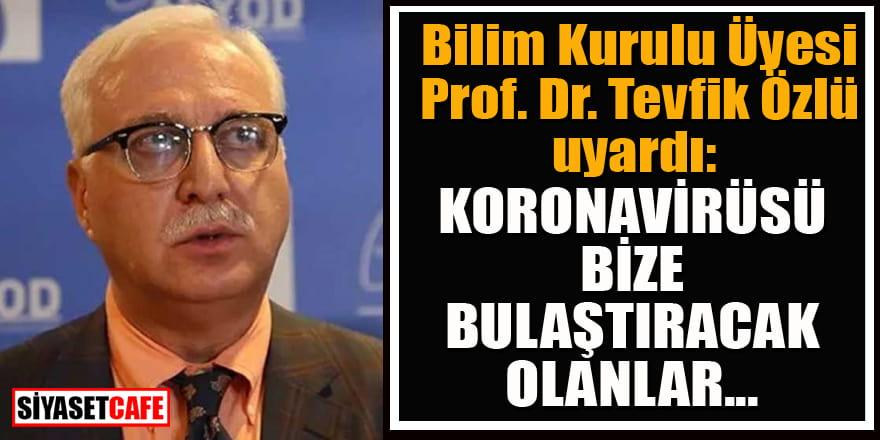 Bilim Kurulu Üyesi Prof. Dr. Tevfik Özlü'den iftar uyarısı!