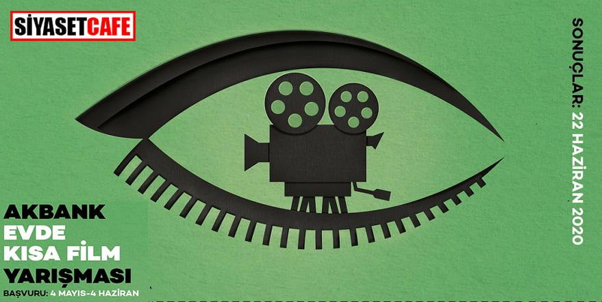 Akbank'tan evde 'kısa film' yarışması