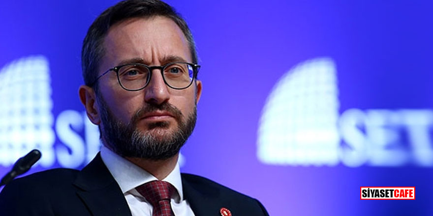 İletişim Başkanı Altun'dan 'idam tehdidi' hakkında suç duyurusu