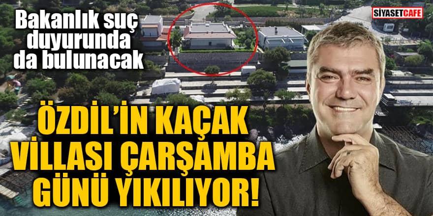 Yılmaz Özdil'in Bodrum'daki kaçak villasıyla ilgili yıkım kararı çıktı