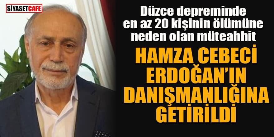 Erdoğan'ın Danışmanlığına Hamza Cebeci atandı... Hamza Cebeci kimdir?