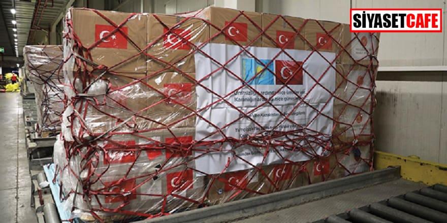 Türkiye'den Kazakistan'a da yardım eli