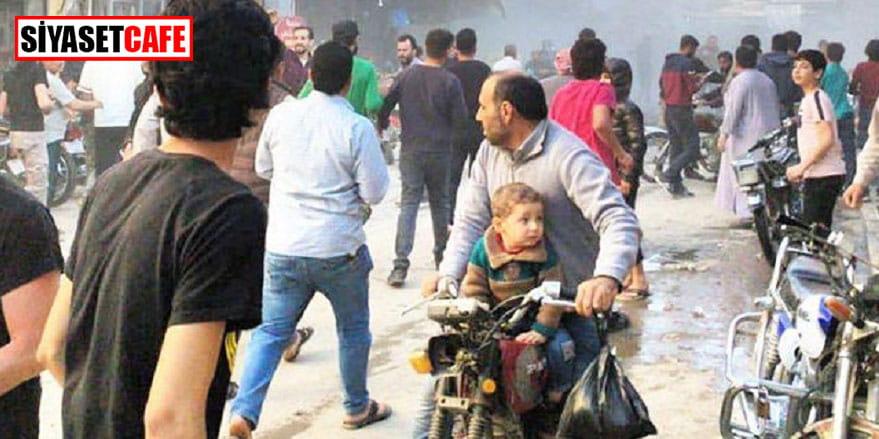 Teröristler El Bab'da sivilleri hedef aldı: En az 11 yaralı!