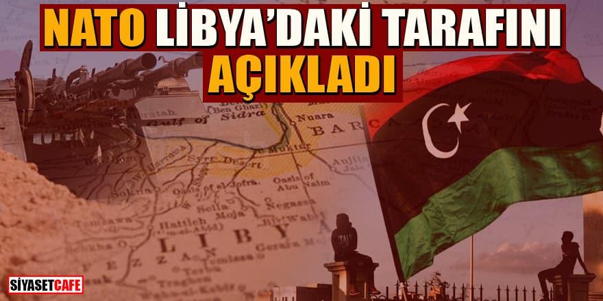 NATO Libya'da tarafını duyurdu