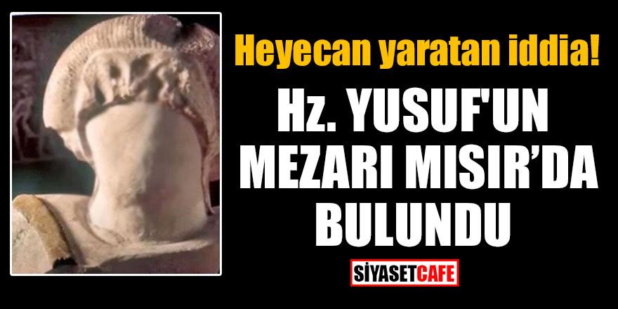 Heyecan yaratan iddia: Hz. Yusuf'un mezarı Mısır'da bulundu