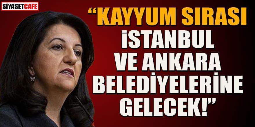 """HDP'den """"kayyum sırası İstanbul ve Ankara belediyelerine gelecek"""" iddiası"""