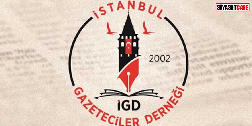 İstanbul Gazeteciler Derneği'nden 19 Mayıs mesajı