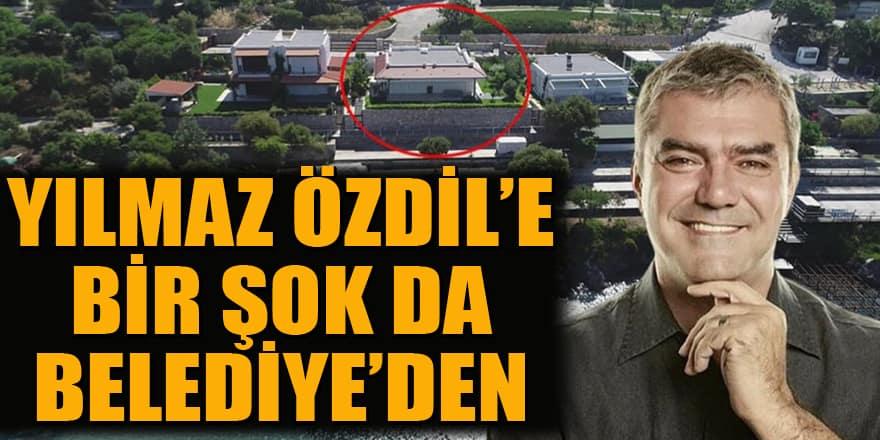 Yılmaz Özdil'in kaçak villasına belediye de 'yıkılmalı' dedi