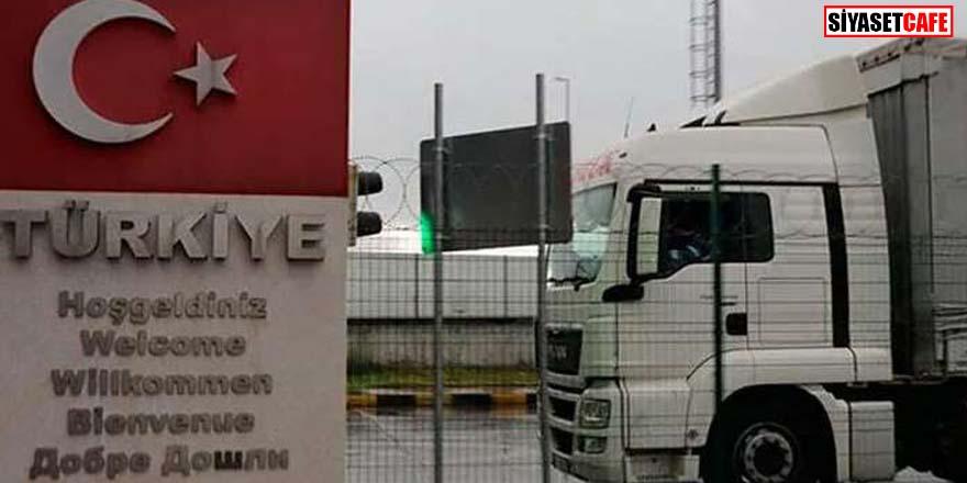 Dereköy Sınır Kapısı yeniden giriş ve çıkışlara açıldı