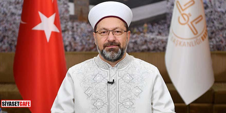 Diyanet İşleri Başkanı Erbaş'dan İzmir'deki cami korsan yayınına tepki