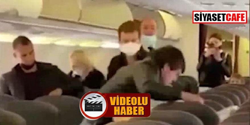 Sosyal mesafe kaygısı uçakta kavga çıkardı