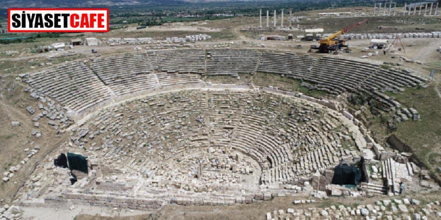 2200 yıllık tiyatro seyircilerine kavuşacak