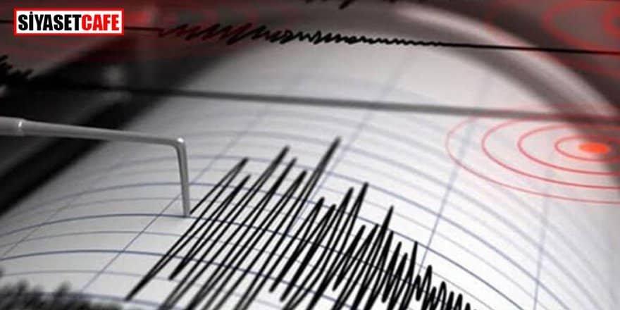 Son dakika! Akdeniz'de korkutan deprem!