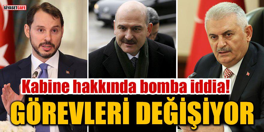 Bomba iddia: Binali Yıldırım, Süleyman Soylu ve Berat Albayrak'ın görevleri değişiyor