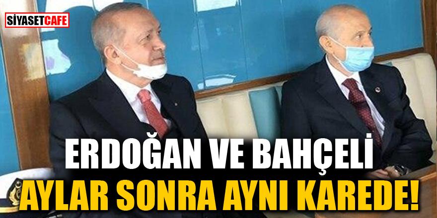 Erdoğan ve Bahçeli aylar sonra aynı karede