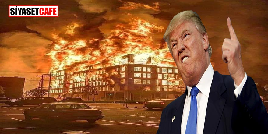 Son dakika! Trump ateş açılır dedi Twitter şiddet işaretini bastı!