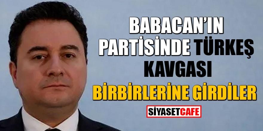 Babacan'ın partisinde Türkeş kavgası!