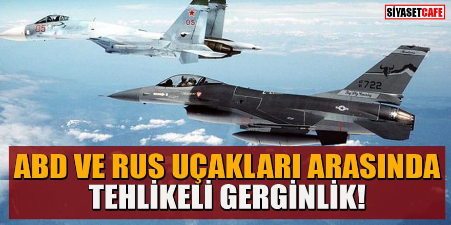 ABD bombardıman uçakları ve Rus savaş uçakları karşı karşıya geldi