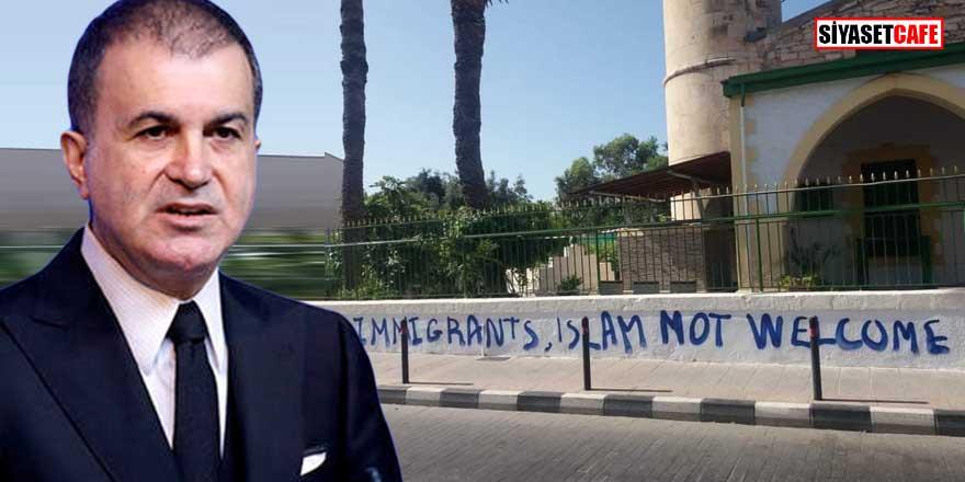 AK Parti'den Kıbrıs'taki cami saldırısına tepki