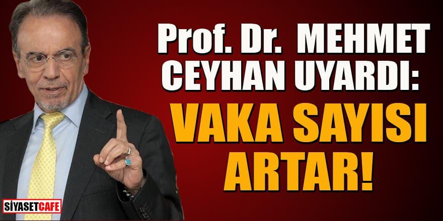 Prof. Dr. Mehmet Ceyhan uyardı: Bu iki kurala uyulmazsa...