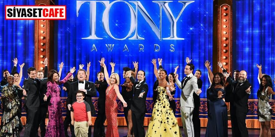 Amerika'nın 2020 Tony Ödülleri tepki olarak iptal edildi