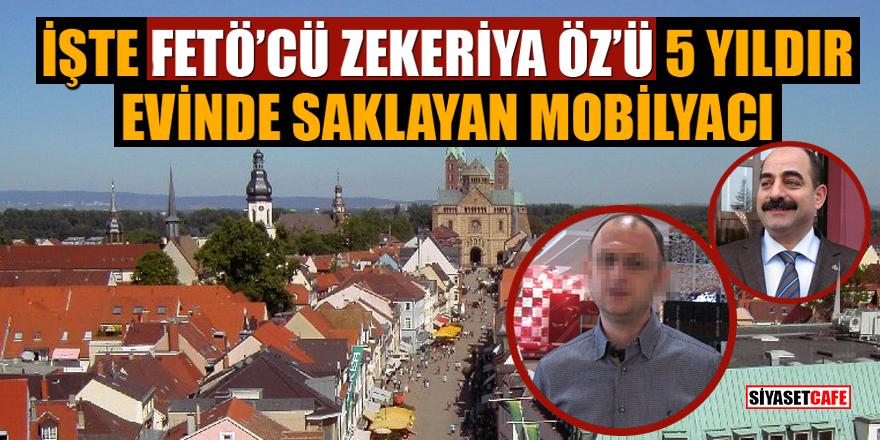 İşte FETÖ'cü Zekeriya Öz'ü 5 yıldır evinde saklayan mobilyacı