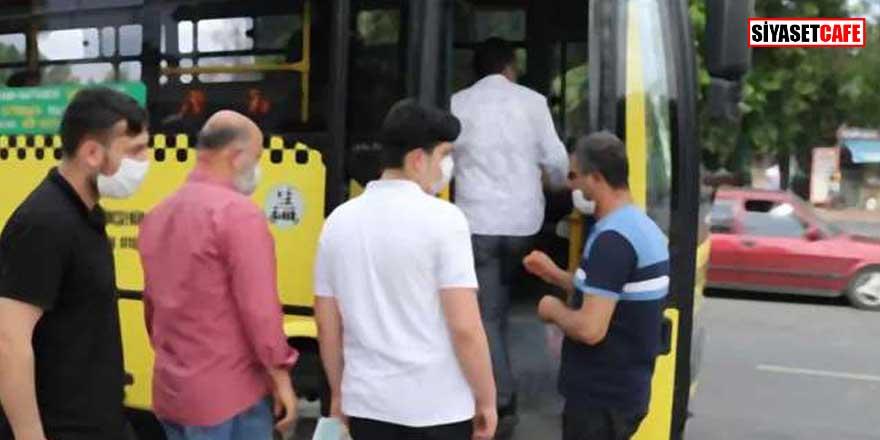 Van'da otobüs şoförü 12 kişiye korona bulaştırdı