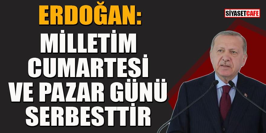 Erdoğan uyardı: Kurallara uyulmazsa kısıtlama geri gelir