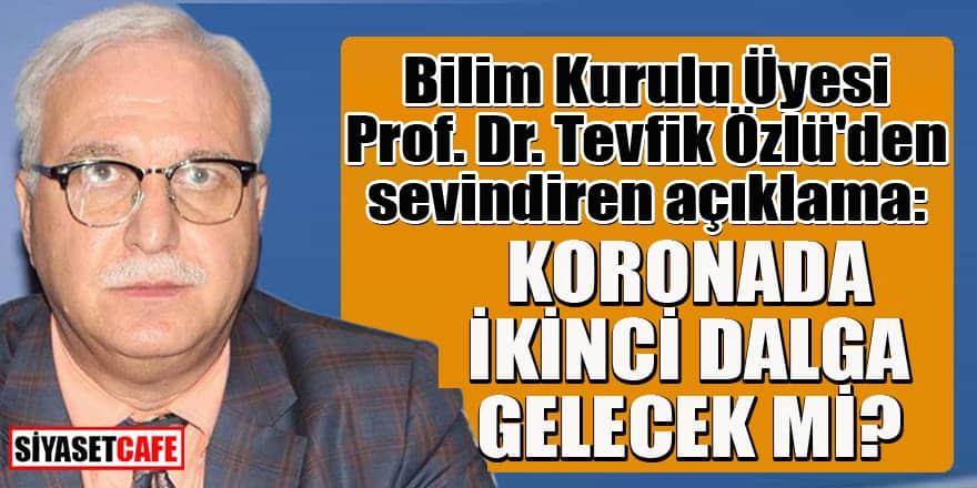 Prof. Dr. Tevfik Özlü'den herkesin içine su serpen açıklama