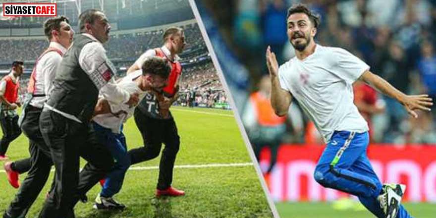 UEFA Süper Kupa final maçında sahaya atlayan Youtuber'a hapis şoku!
