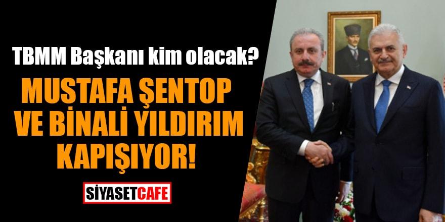 TBMM Başkanı kim olacak? Kulislerden bomba 'Mustafa Şentop ve Binali Yıldırım' iddiası
