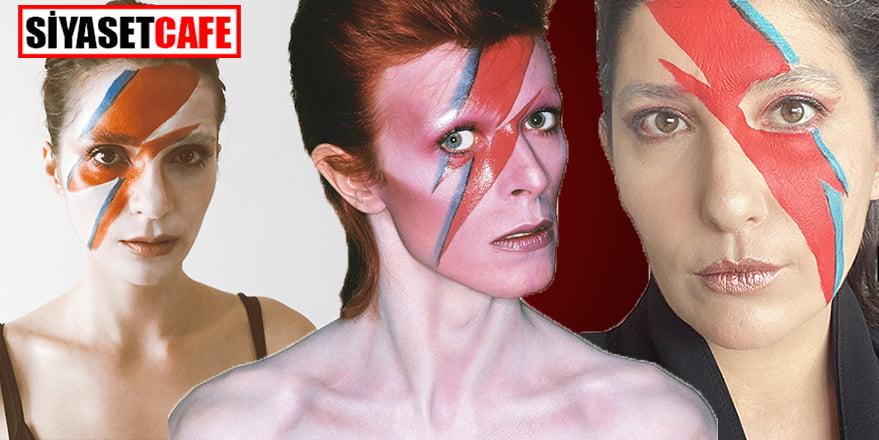 En İyi David Bowie makyajı Şebnem Bozoklu'dan