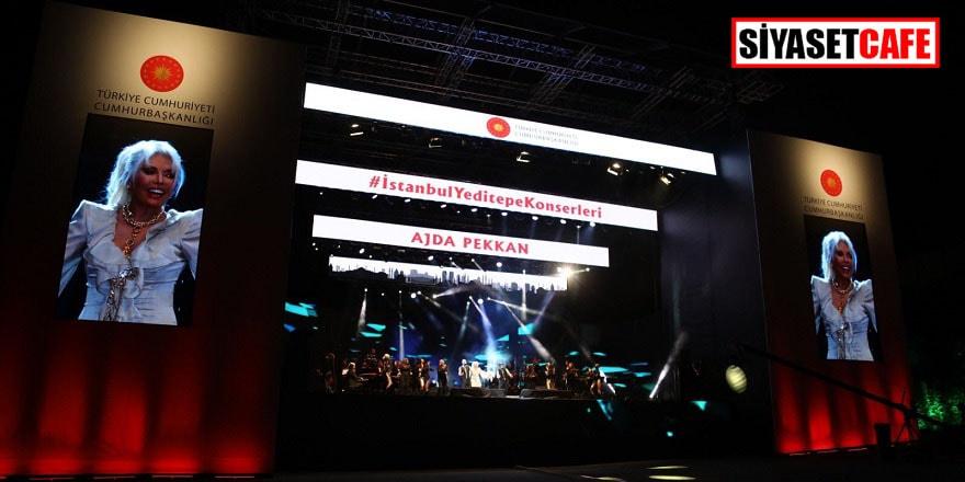İstanbul Yeditepe Konserleri'nin ilk konuğu Ajda Pekkan oldu