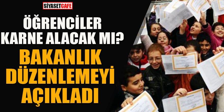 Öğrenciler karne alacak mı? MEB'den yeni düzenleme açıklaması