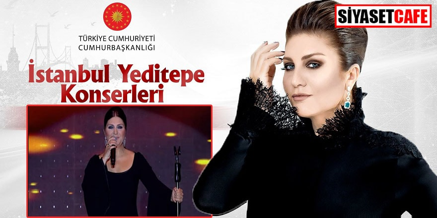 İstanbul Yeditepe Konserleri'nde Sibel Can sahnedeydi
