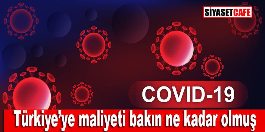 Korona virüs için bakın Türkiye ne kadar harcamış
