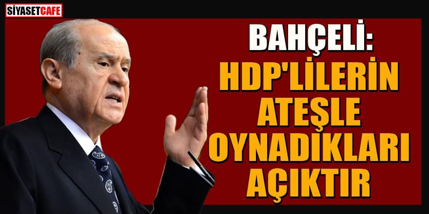 Bahçeli'den HDP'nin yürüyüşüne sert tepki: Terörist komplosu!