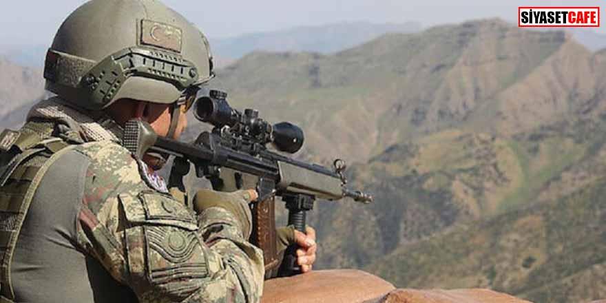 MSB duyurdu: PKK'lı 4 terörist etkisiz hale getirildi