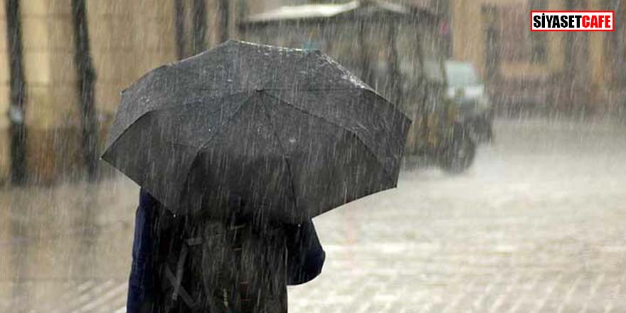 Meteoroloji'den dolu ve sel uyarısı! Sağanak yağış etkisini göstermeye başladı