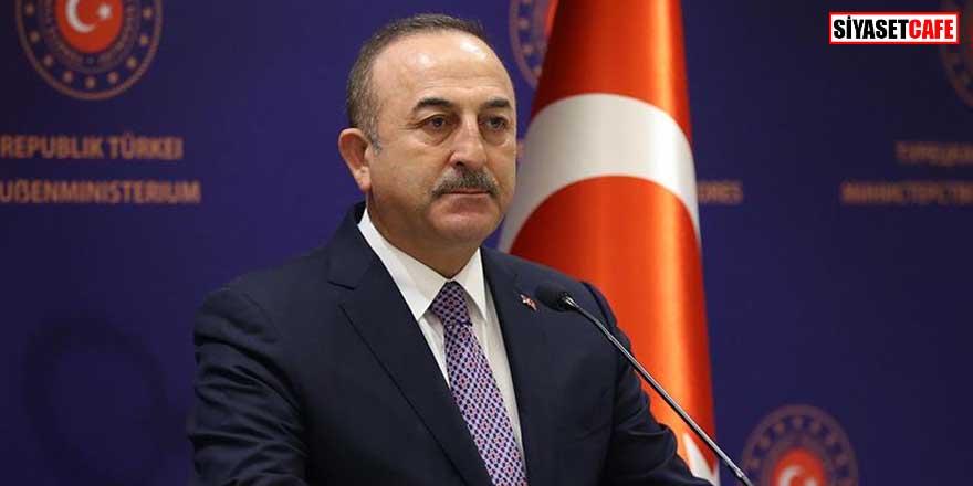 Bakan Çavuşoğlu'ndan 'Hafter' açıklaması: Masada olmaması lazım